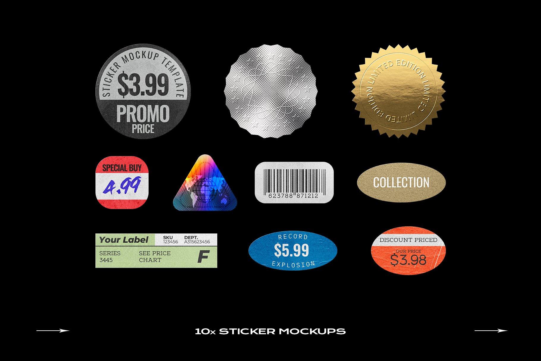 [淘宝购买] 60个DVD光盘包装盒塑料袋塑料膜贴纸样机PS设计素材 DVD Case Mockup Template Bundle Disc插图(19)