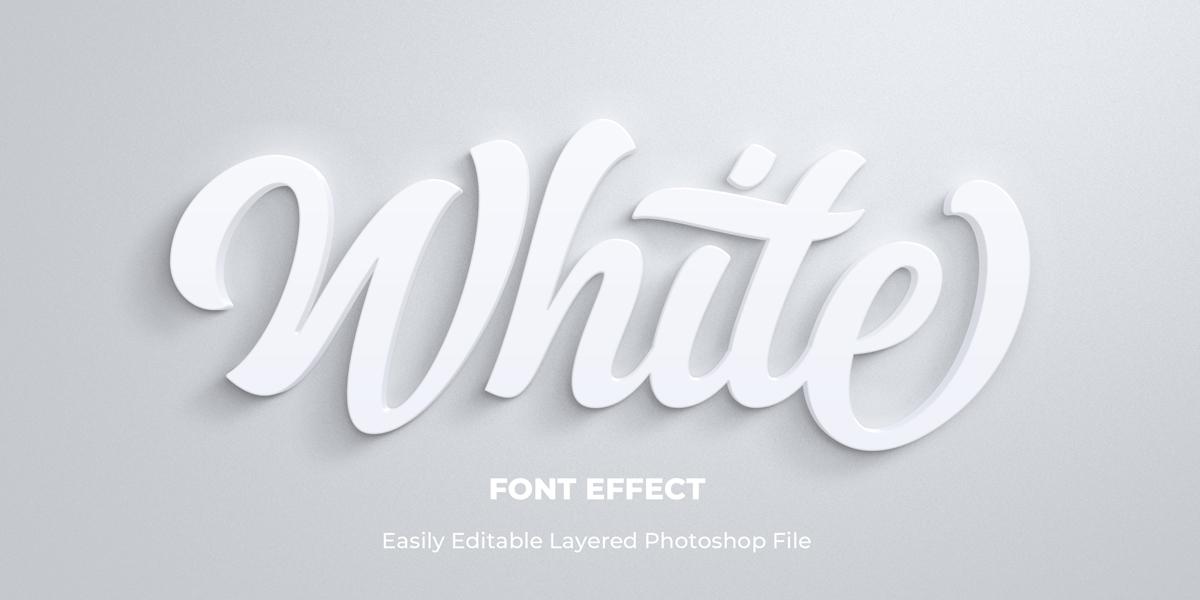 11款立体字效果徽标标题设计PS样式模板 Text Effect Mockup插图(9)
