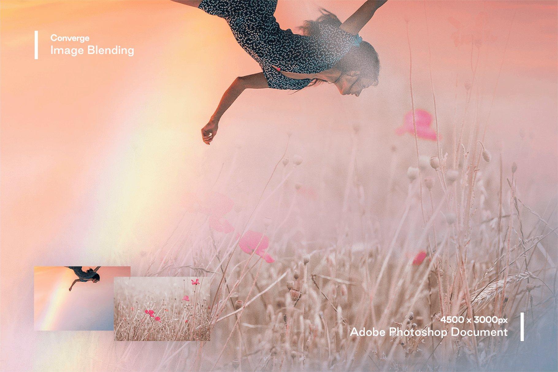 [淘宝购买] 多种曝光融合烟雾混合效果照片处理PS图层样式 Converge – Image Blending插图(1)