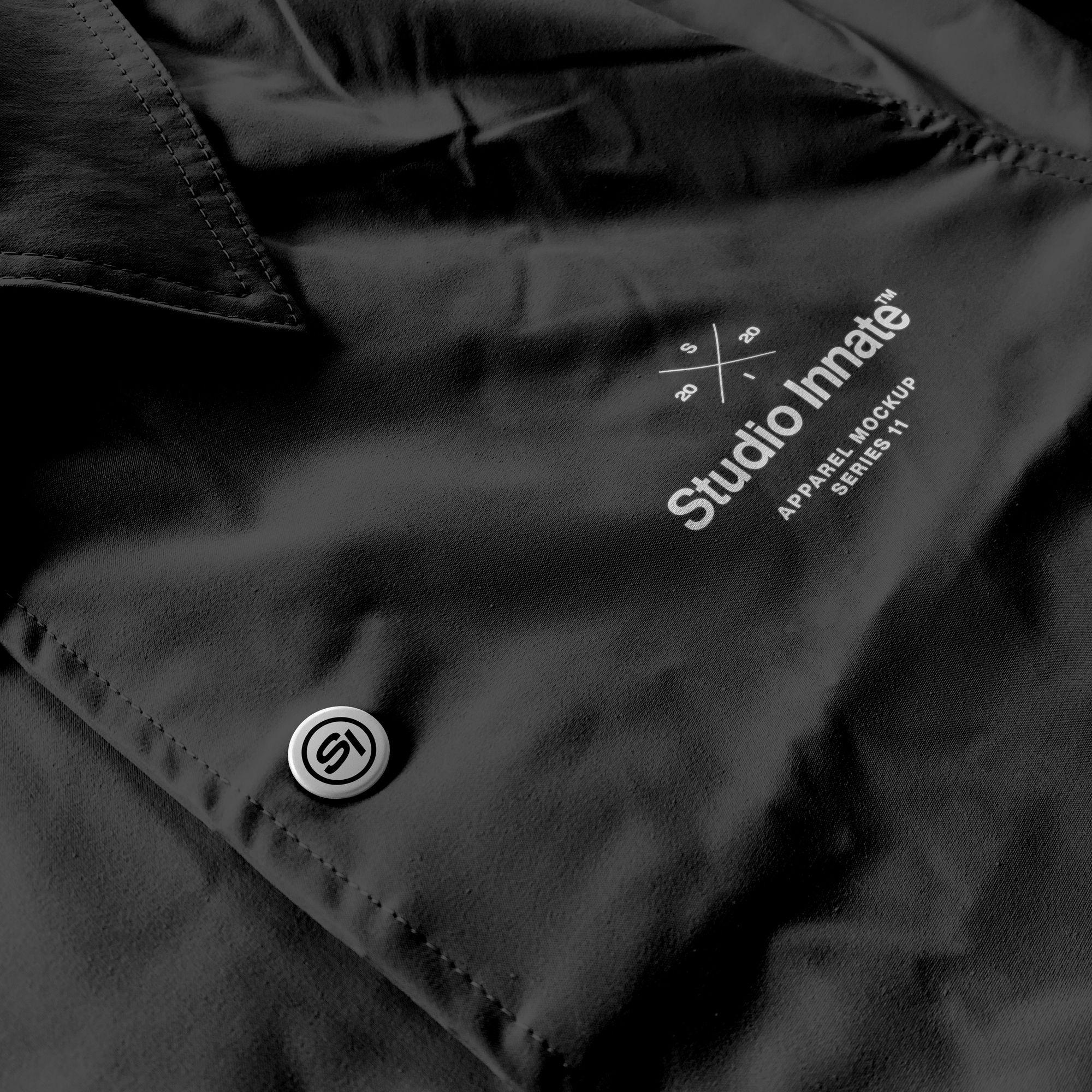 教练长袖夹克衫设计展示样机模板合集 Coach Jacket – Mockup Bundle插图(1)