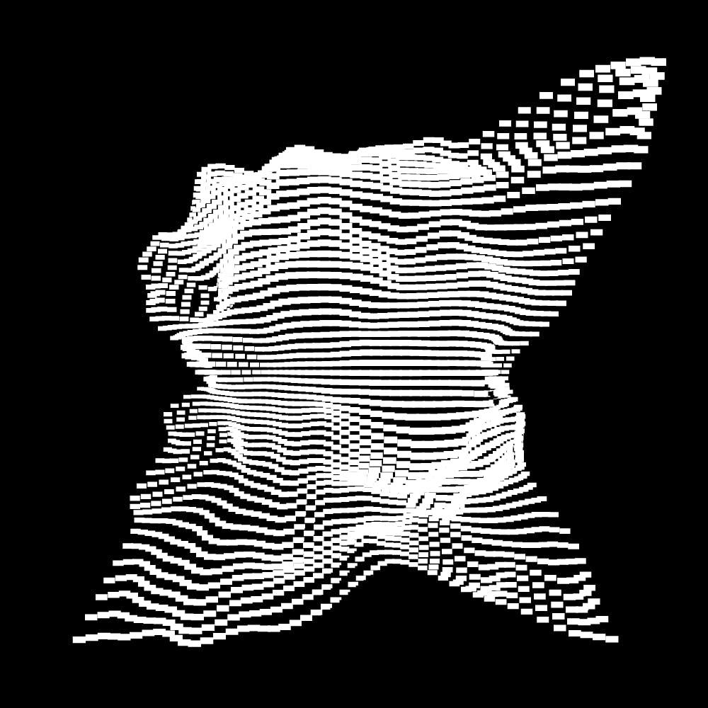 10款抽象几何噪点网格海报平面设计装饰矢量图形素材 Geometric Noise Grid Collection插图(1)
