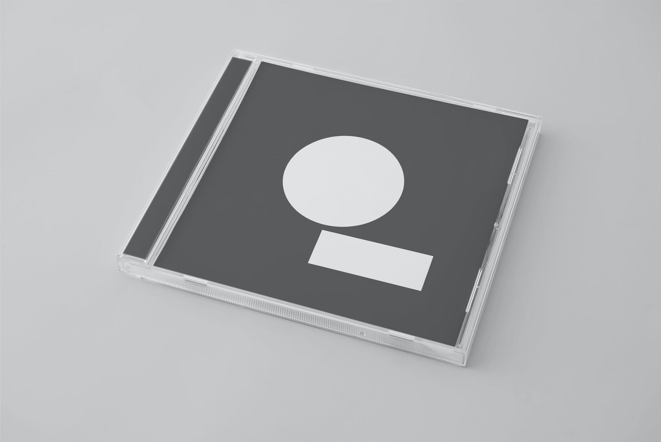 11款逼真CD/DVD包装盒设计展示样机模板 CD/DVD Album Mockup插图(1)