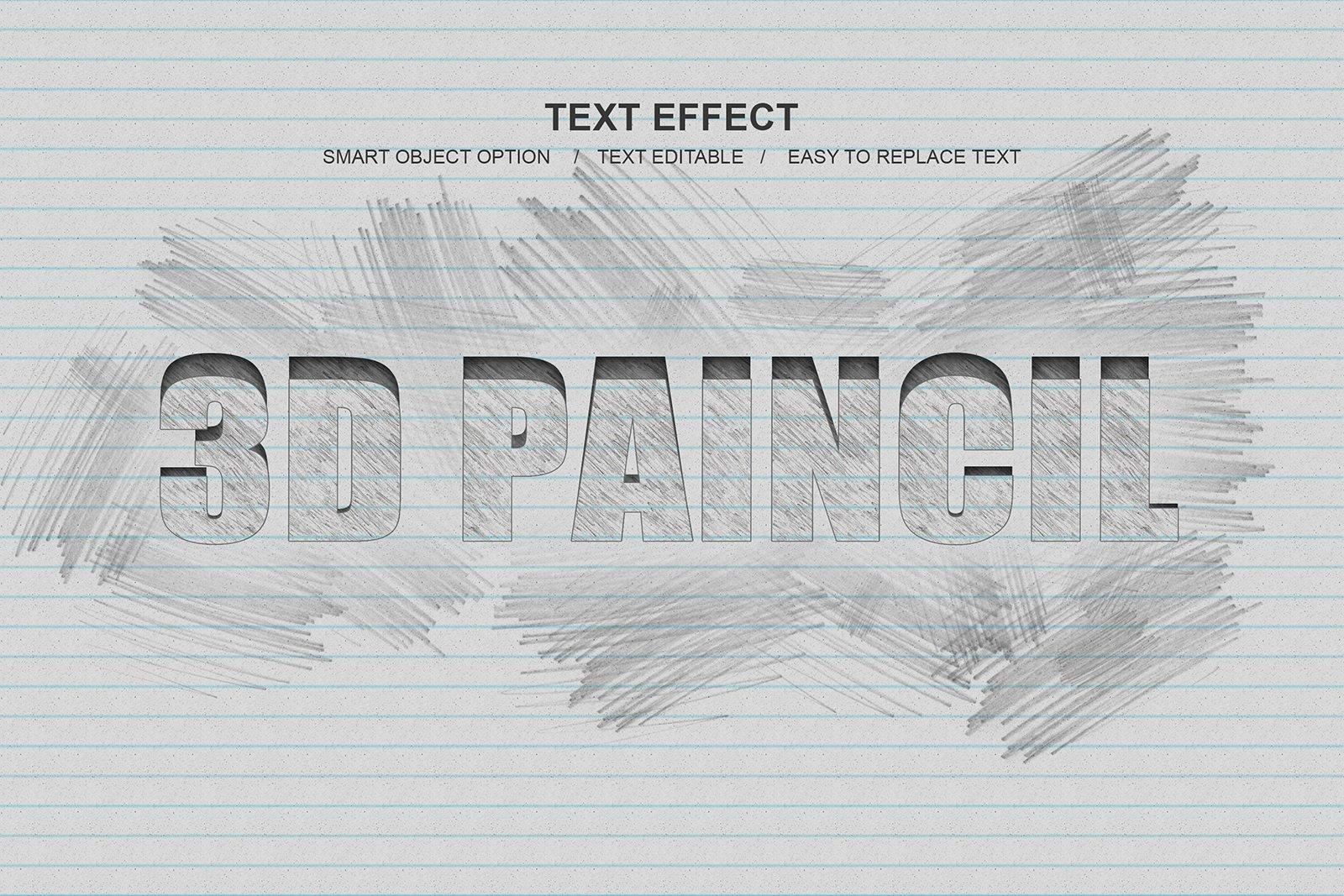 30款故障金属3D立体标题字体设计PS样式模板素材 Photoshop Layer Style Bundle插图(8)