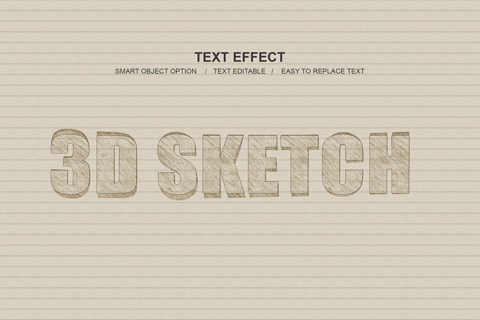 30款故障金属3D立体标题字体设计PS样式模板素材 Photoshop Layer Style Bundle插图(9)