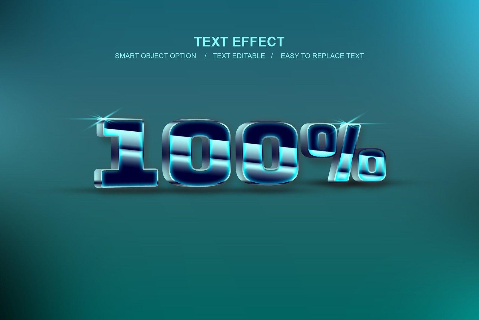 30款故障金属3D立体标题字体设计PS样式模板素材 Photoshop Layer Style Bundle插图(13)