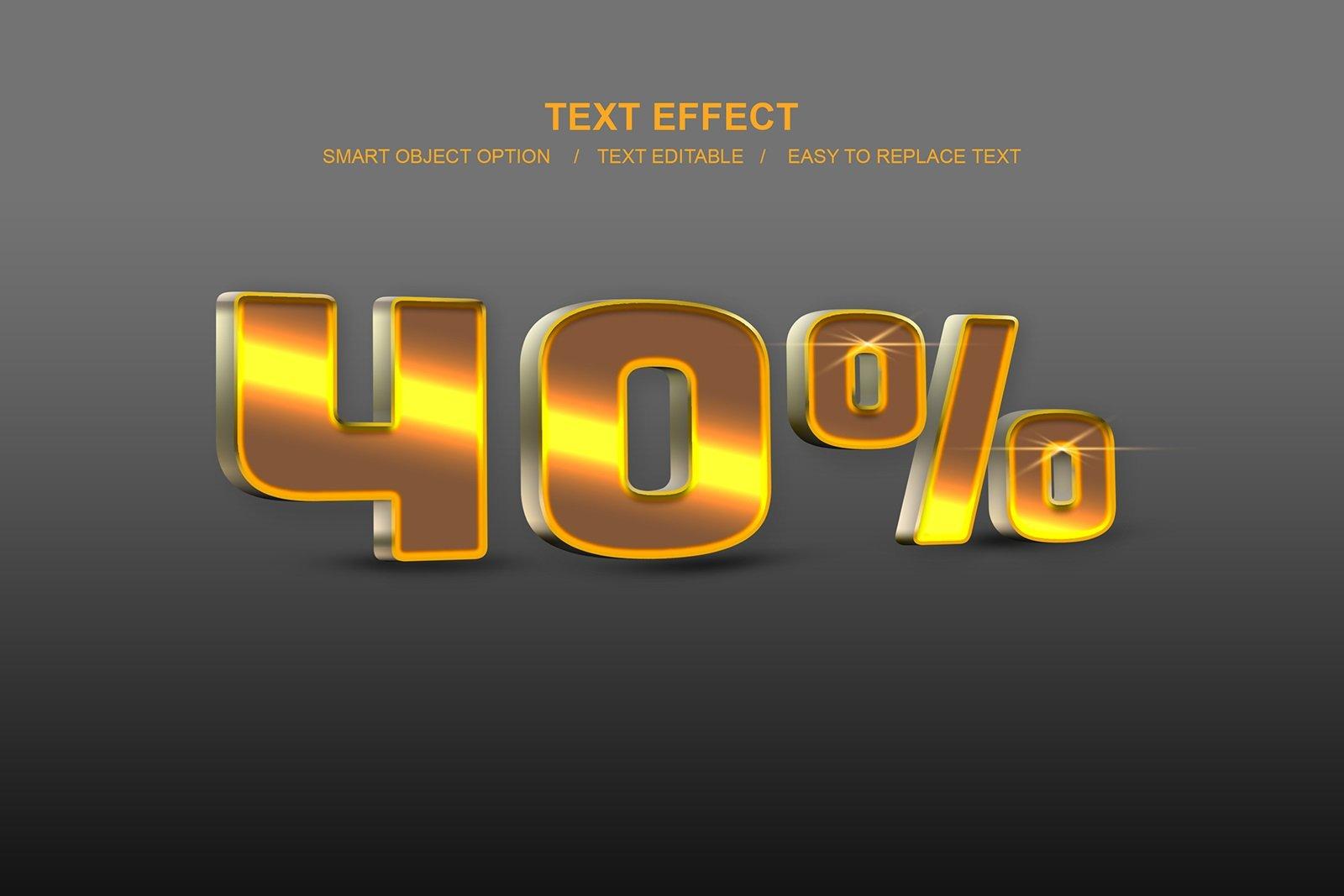 30款故障金属3D立体标题字体设计PS样式模板素材 Photoshop Layer Style Bundle插图(14)