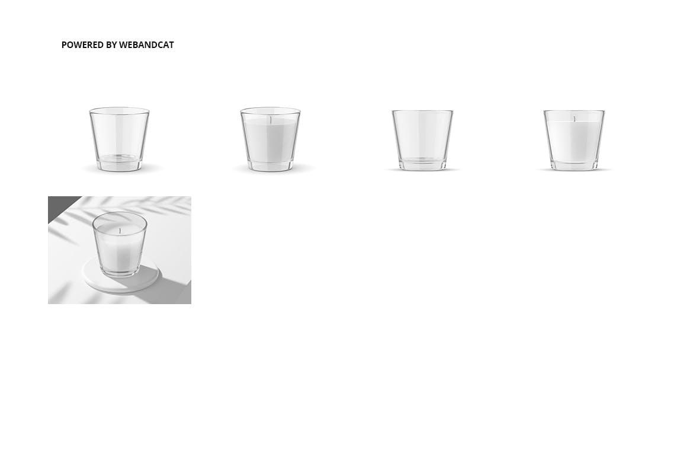 蜡烛香薰玻璃杯设计展示样机模板 Candle Mockup 2插图(2)