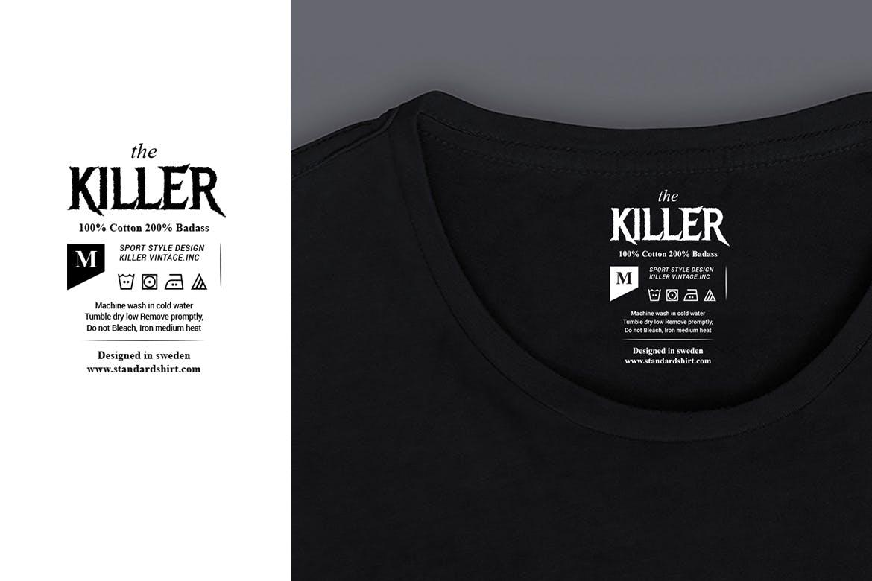 12款服装标签吊牌设计AI矢量模板 12 Clothing Labels And Tags插图(2)