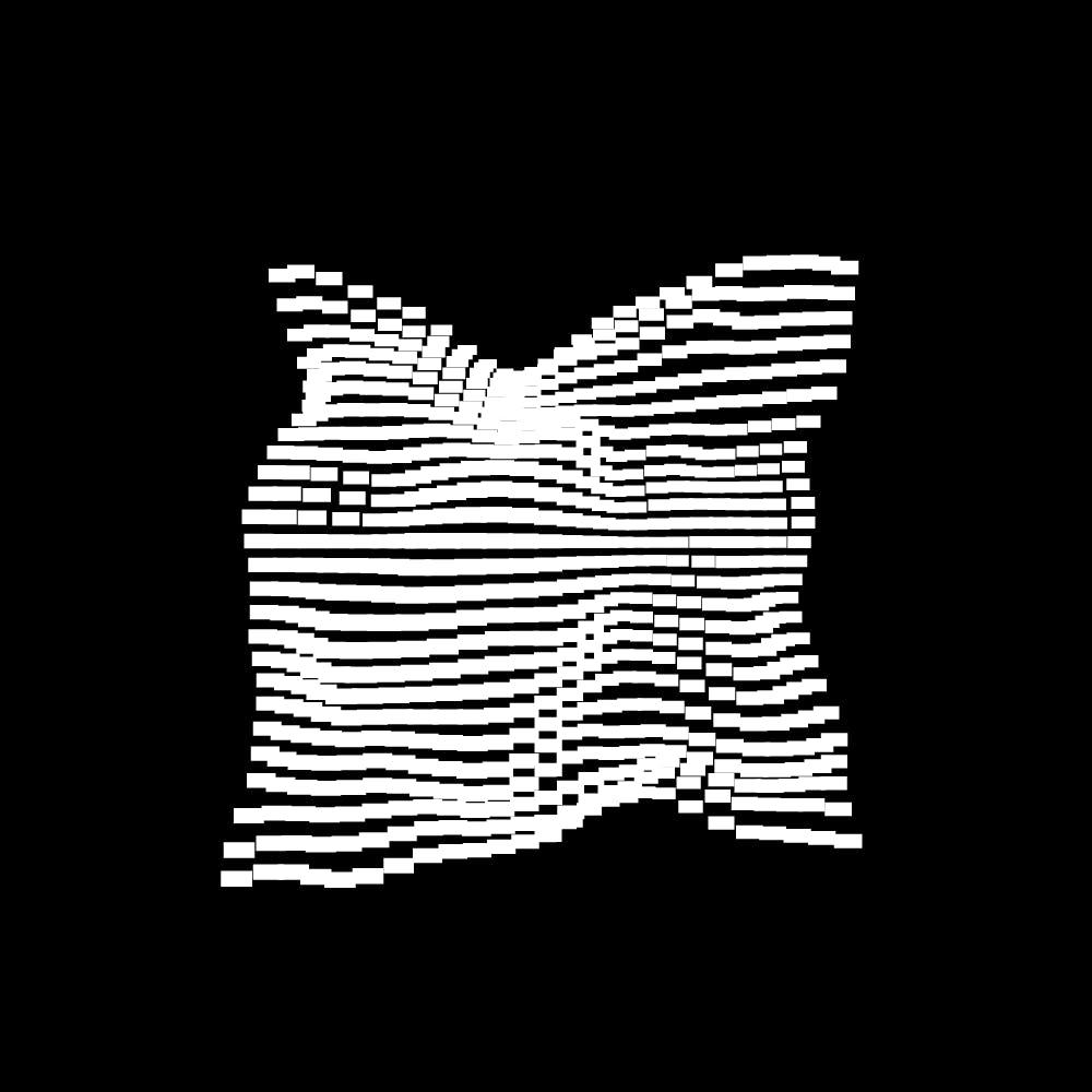 10款抽象几何噪点网格海报平面设计装饰矢量图形素材 Geometric Noise Grid Collection插图(2)