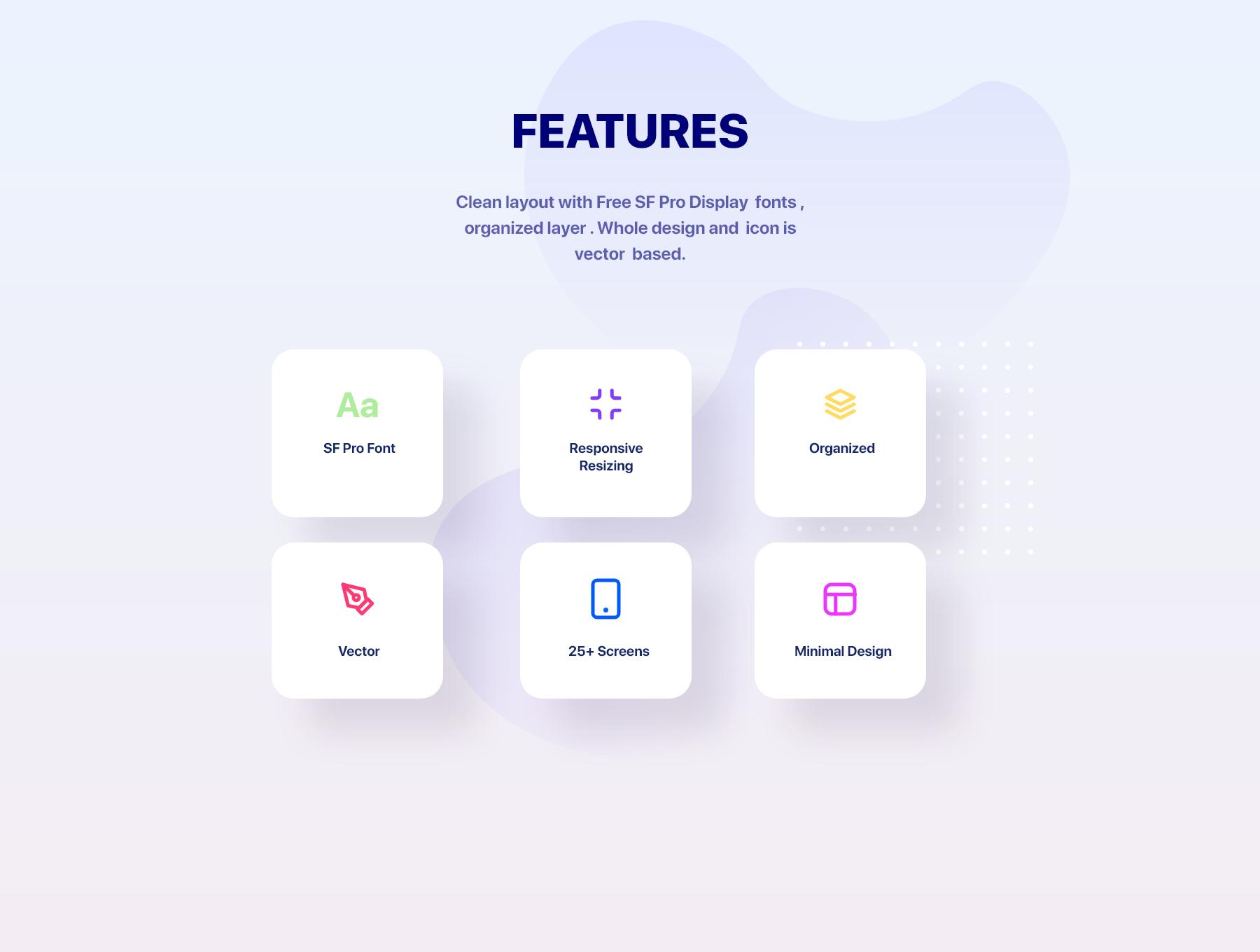 精美共享电瓶车单车踏板车租赁应用程序APP UI套件 Glow App Ui Kit插图(2)