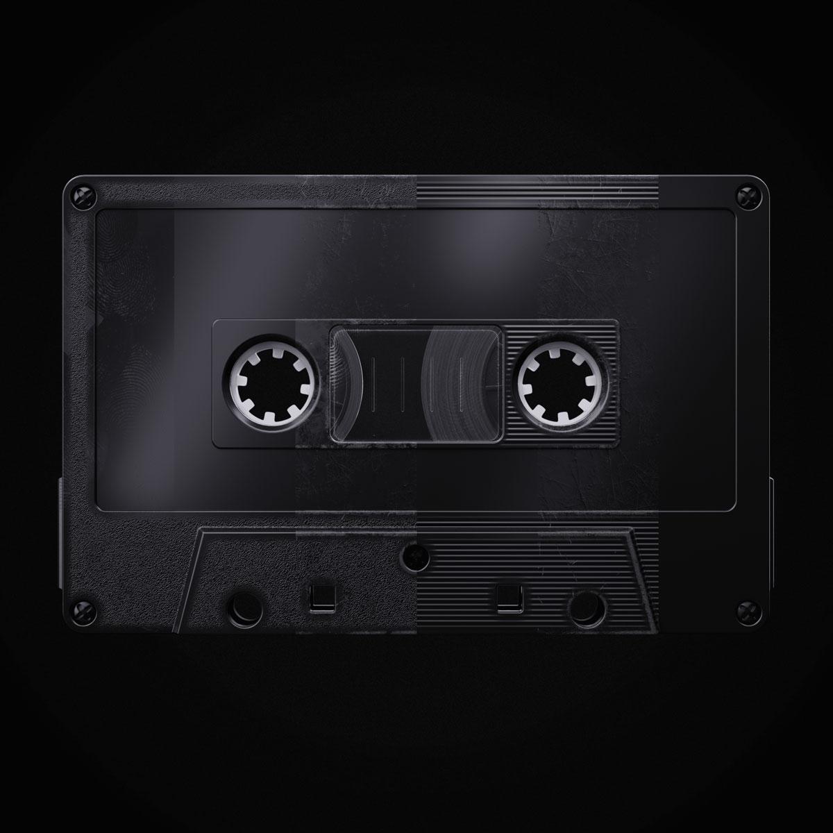 [淘宝购买] 潮流复古盒式磁带录音带设计智能贴图展示样机模板 Undead's Mix '80插图(2)