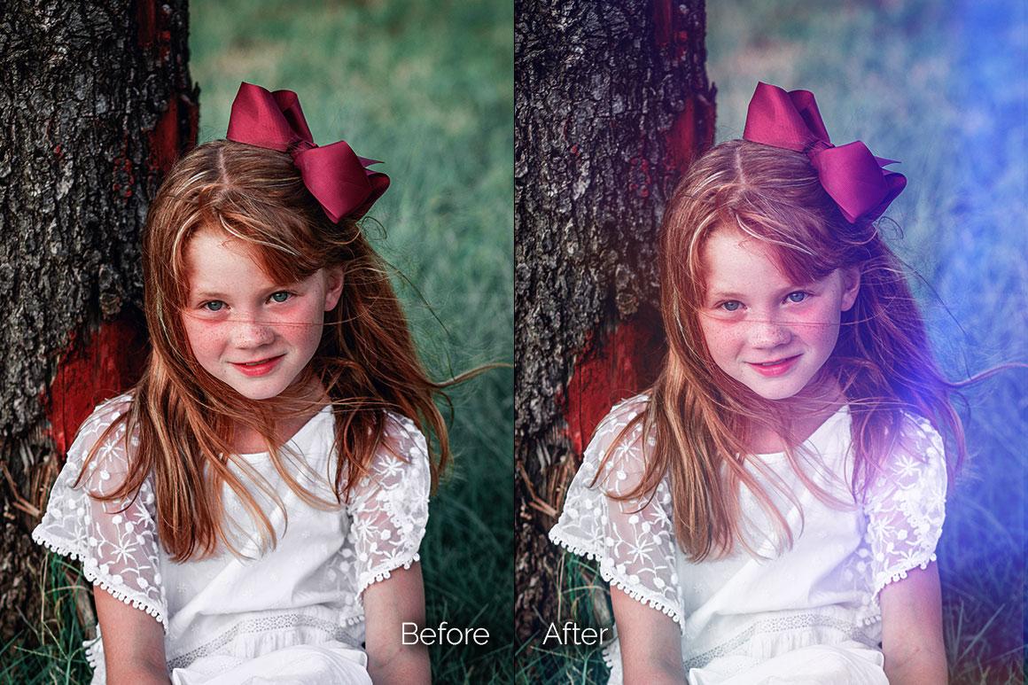 129款高清漏光照片叠加层图片素材 129 Warm Light Leaks Photo Overlays插图(6)