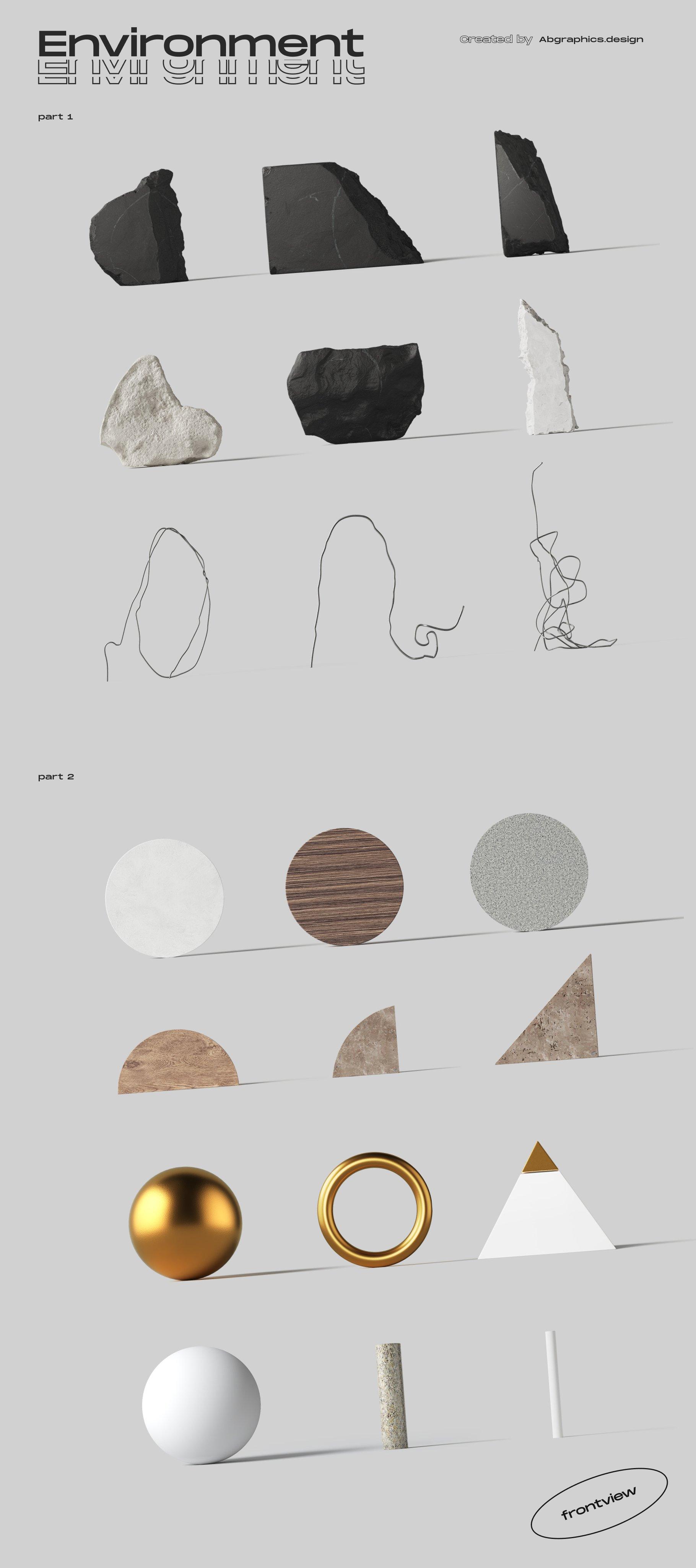 [淘宝购买] 超大品牌VI包装设计PS智能贴图样机模板素材 The Scene Creator 2 / Frontview插图(38)