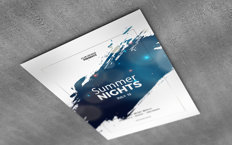 10款美式海报传单设计展示样机模板 U.S Letter Poster & Flyer Mockups插图(3)