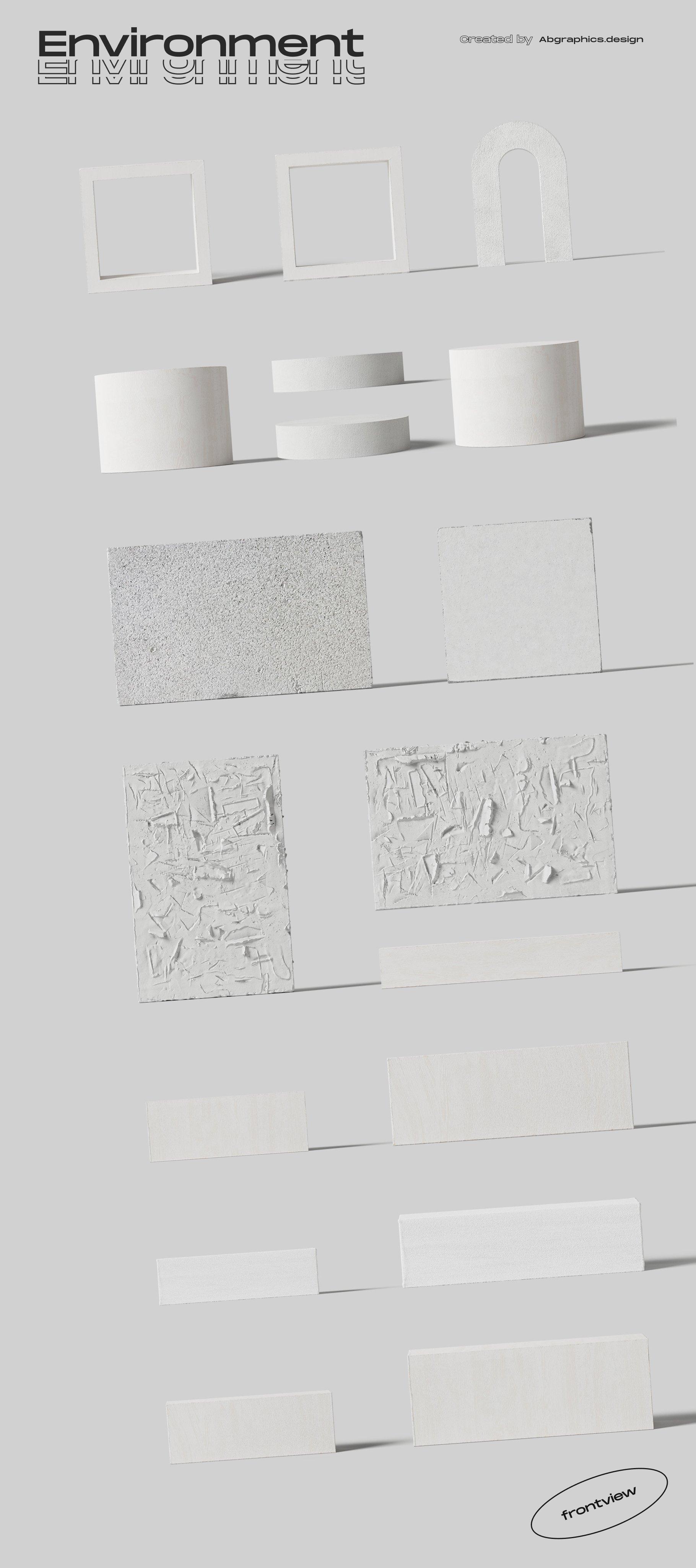 [淘宝购买] 超大品牌VI包装设计PS智能贴图样机模板素材 The Scene Creator 2 / Frontview插图(39)