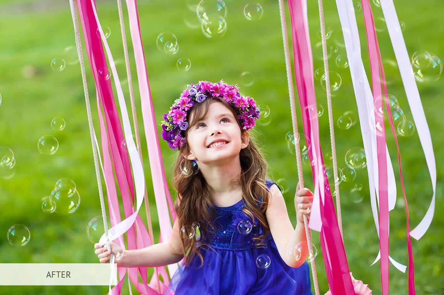 20个高清气泡PS图层叠加背景图片素材 Bubbles Overlays Photoshop插图(9)