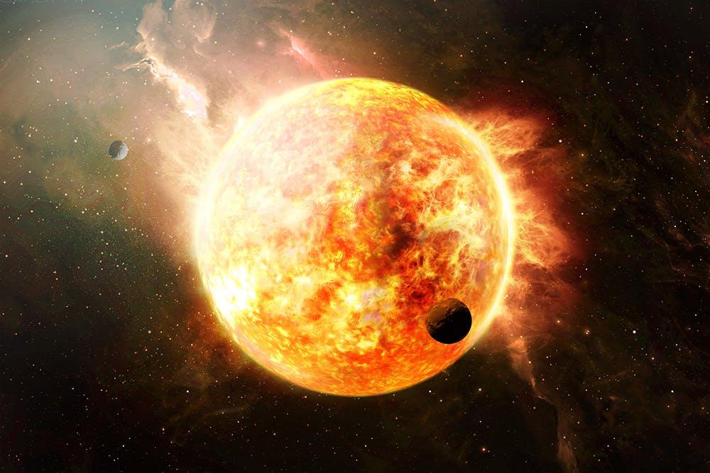 行星太空场景文字标题展示样机模板 Outer Space Planetary Template插图(4)