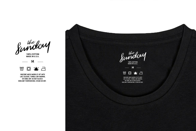 12款服装标签吊牌设计AI矢量模板 12 Clothing Labels And Tags插图(4)