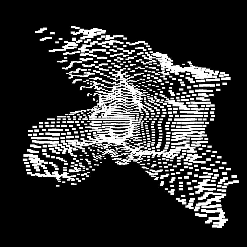 10款抽象几何噪点网格海报平面设计装饰矢量图形素材 Geometric Noise Grid Collection插图(4)