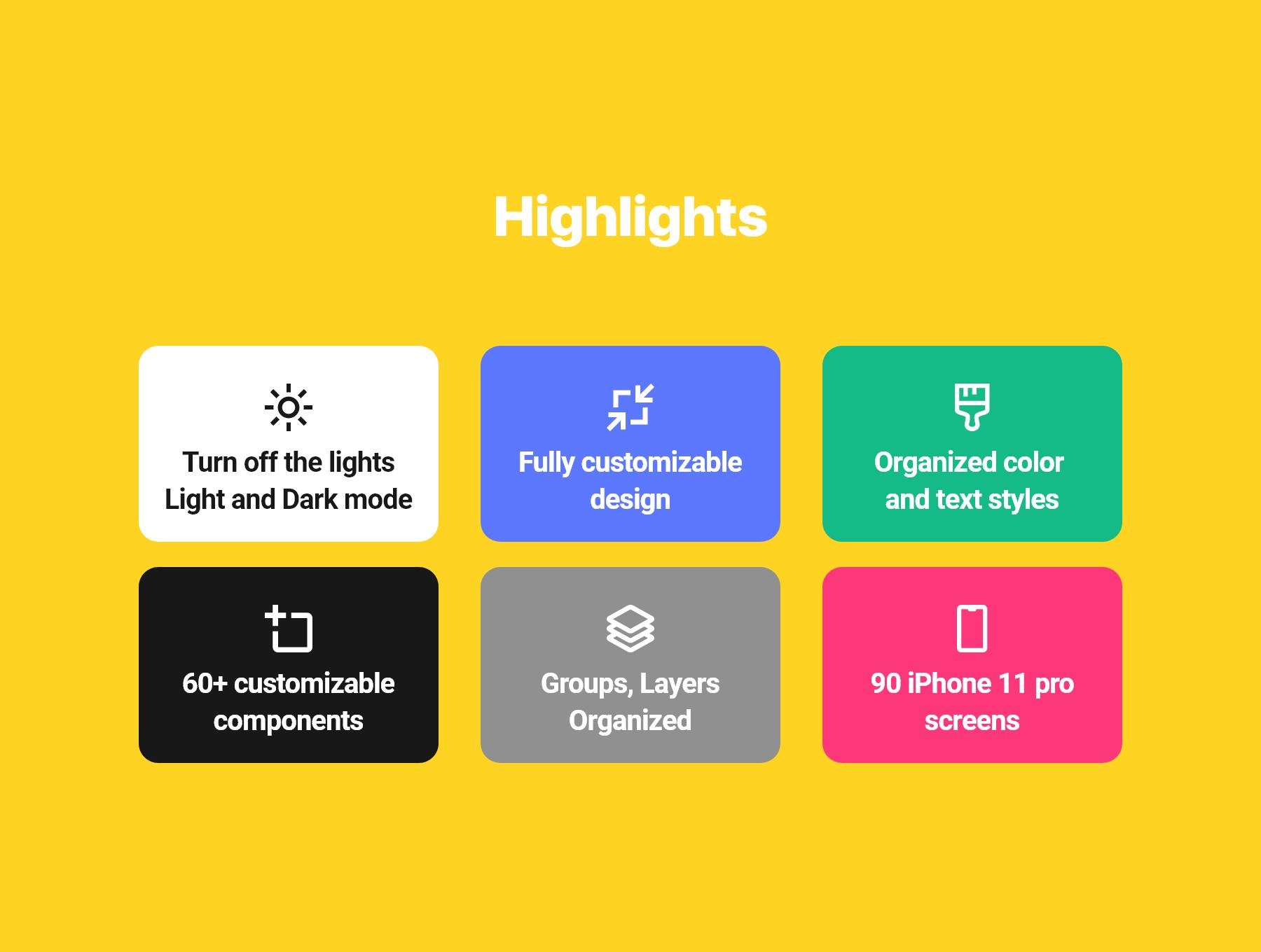 音乐播放器APP应用程序设计UI套件FIG模板 Opala Music app – FIGMA Version插图(2)
