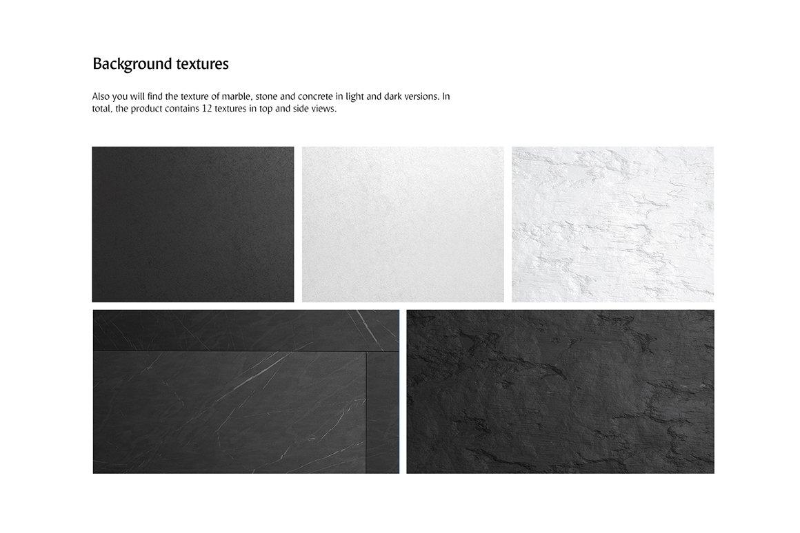 剪贴板菜单设计展示样机模板合集 Clipboard Menu Mockups Set插图(5)