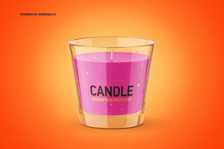 蜡烛香薰玻璃杯设计展示样机模板 Candle Mockup 2插图(5)