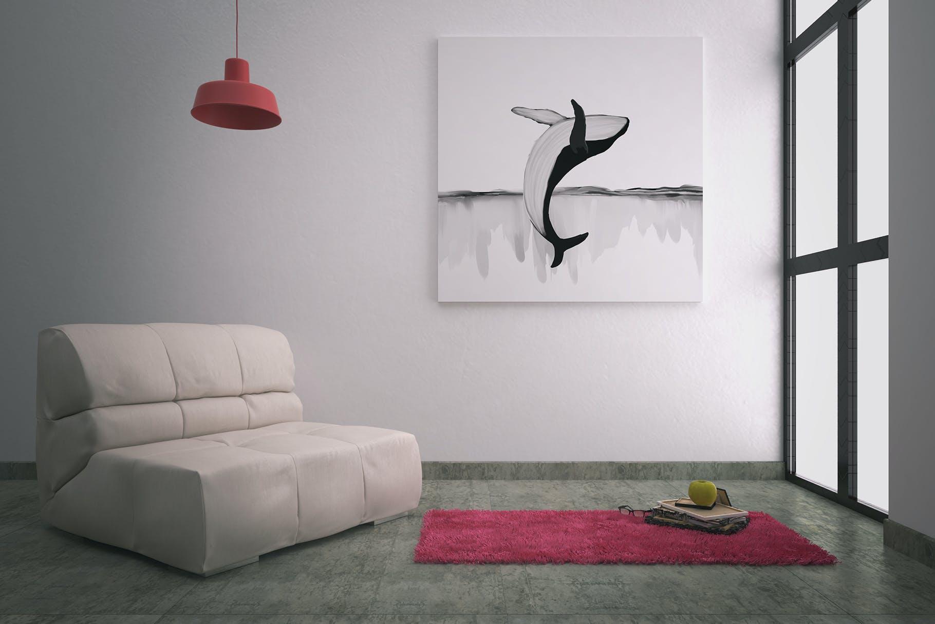 30款精美高清手绘鲸鱼轮船山脉图片素材 Whales – Black And White Prints插图(5)
