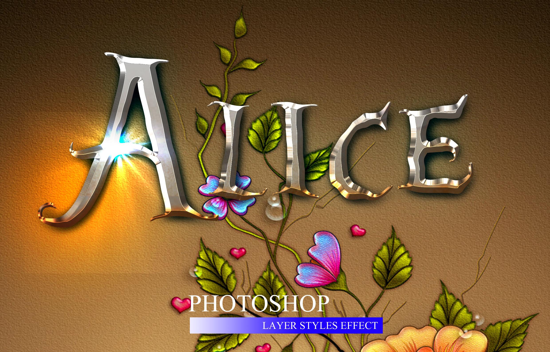 10款金属3D立体效果标题字体设计PS样式模板 10 3D Text Style插图(6)