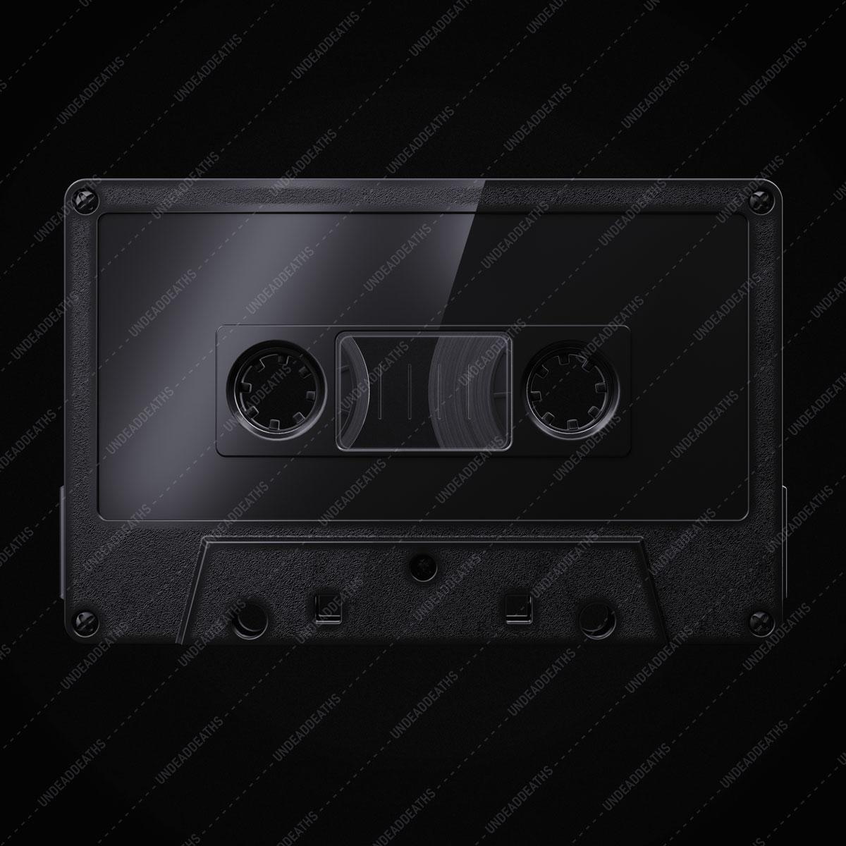 [淘宝购买] 潮流复古盒式磁带录音带设计智能贴图展示样机模板 Undead's Mix '80插图(5)