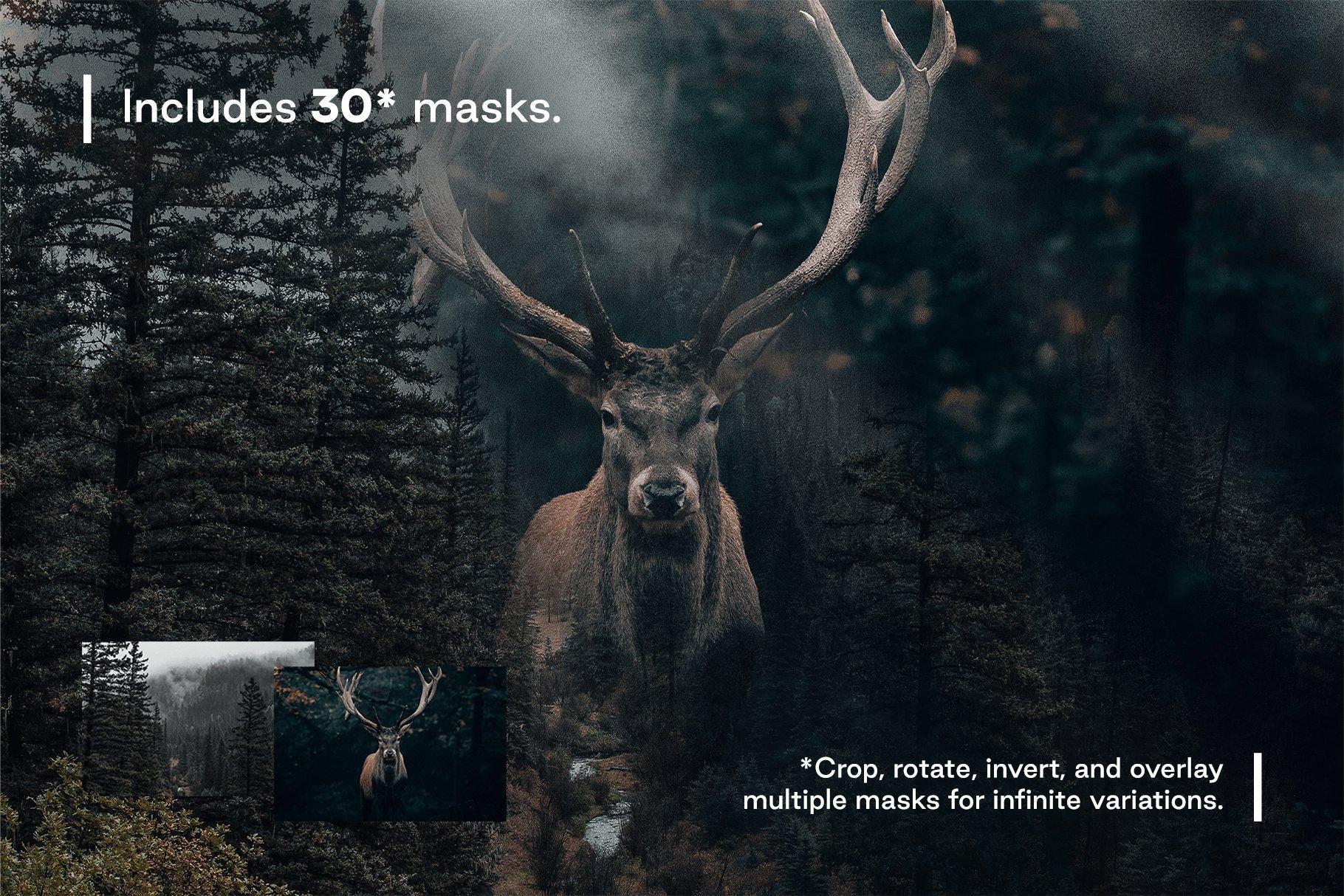 [淘宝购买] 多种曝光融合烟雾混合效果照片处理PS图层样式 Converge – Image Blending插图6
