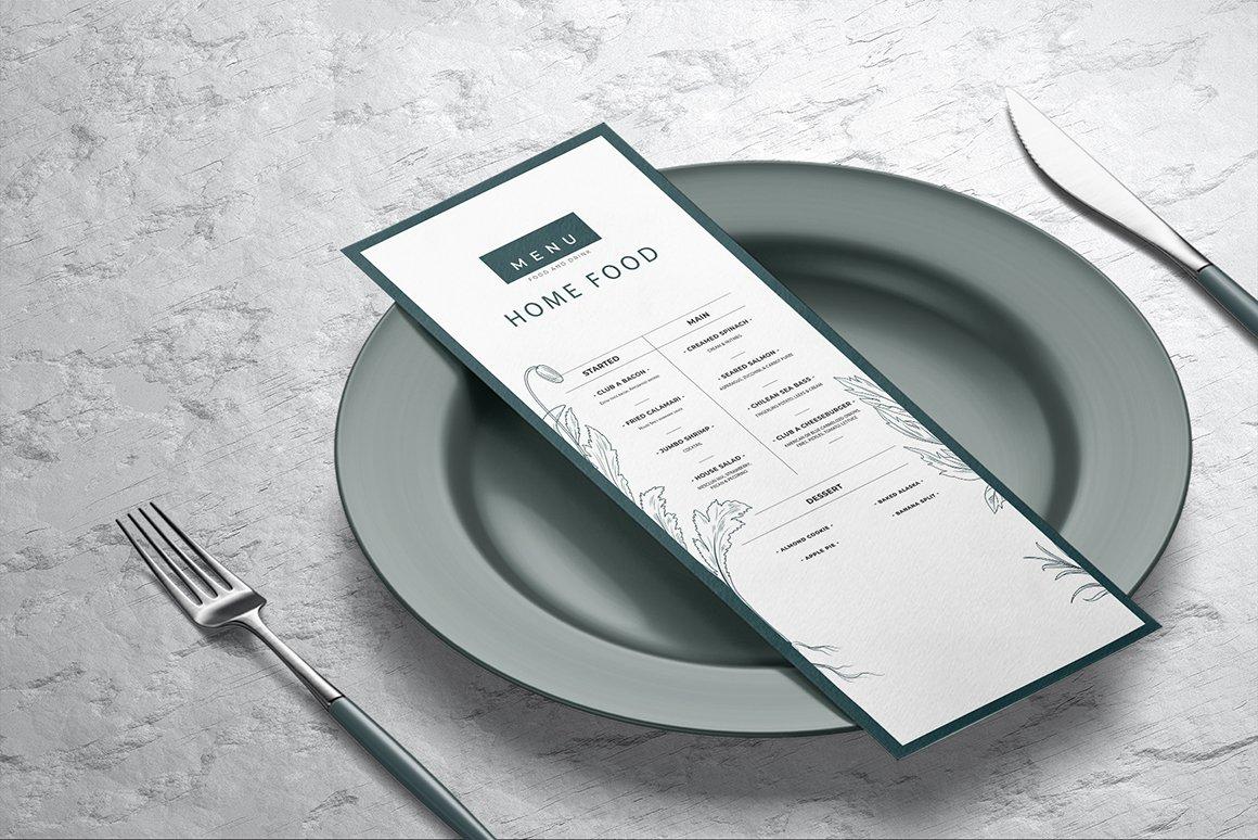 剪贴板菜单设计展示样机模板合集 Clipboard Menu Mockups Set插图(6)
