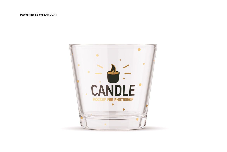 蜡烛香薰玻璃杯设计展示样机模板 Candle Mockup 2插图(6)