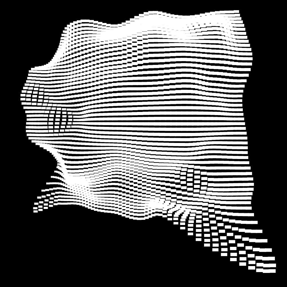 10款抽象几何噪点网格海报平面设计装饰矢量图形素材 Geometric Noise Grid Collection插图(6)