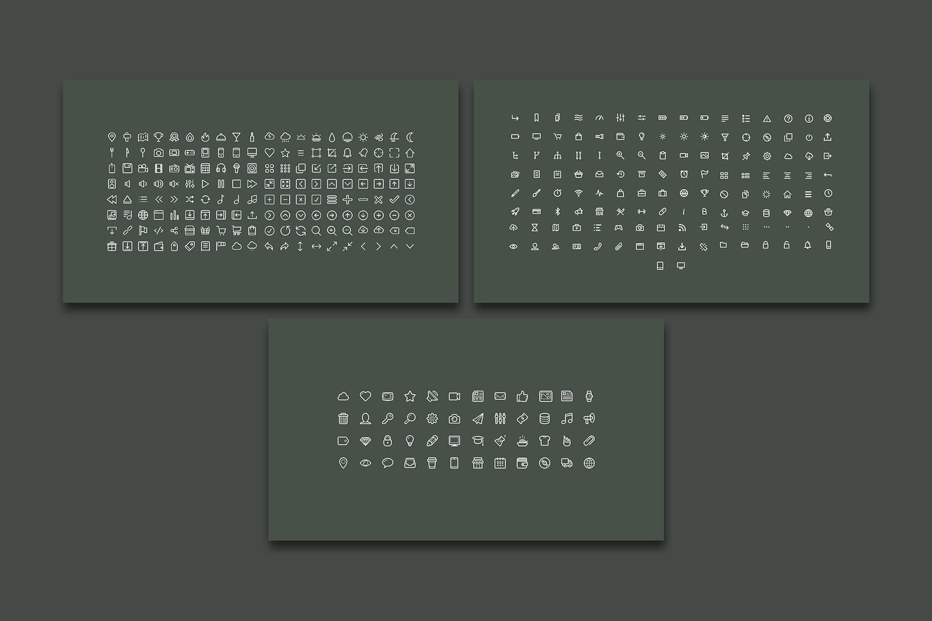 时尚优雅极简莫兰迪色时尚品牌推广PPT演示文稿模板 Arriety – PowerPoint Template插图(6)