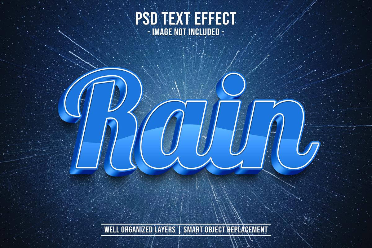 11款立体字效果徽标标题设计PS样式模板 Text Effect Mockup插图(2)