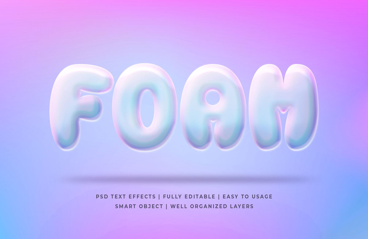 11款3D立体海报标题文字设计PS样式模板 3D Game Title Text PS Style插图(9)