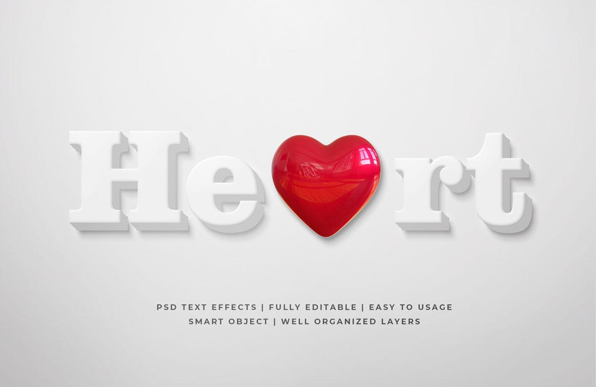 11款3D立体海报标题文字设计PS样式模板 3D Game Title Text PS Style插图(10)
