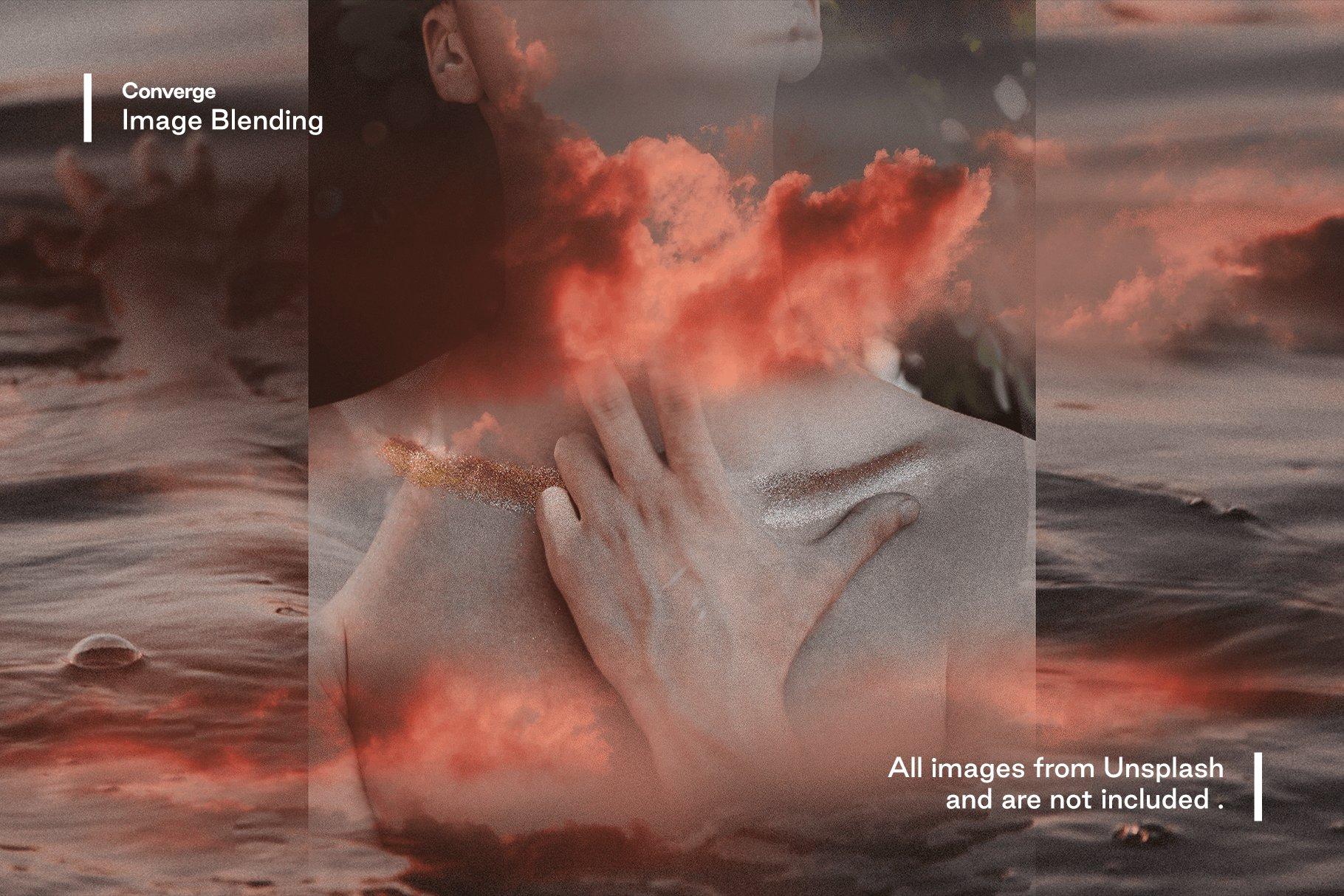 [淘宝购买] 多种曝光融合烟雾混合效果照片处理PS图层样式 Converge – Image Blending插图8