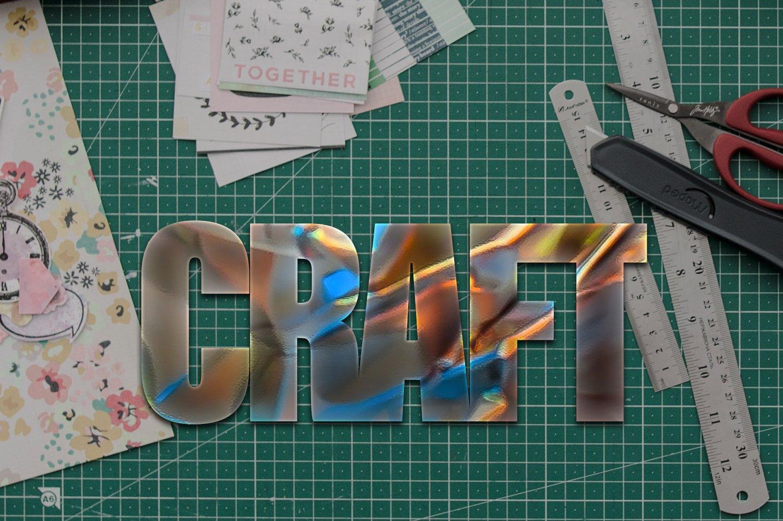 36个铝箔效果标题文字设计PS样式模板 Foil Style Text Effect插图(8)
