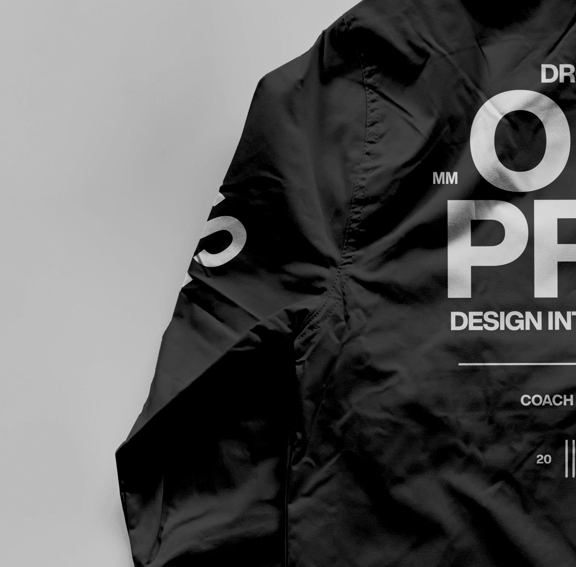教练长袖夹克衫设计展示样机模板合集 Coach Jacket – Mockup Bundle插图(8)