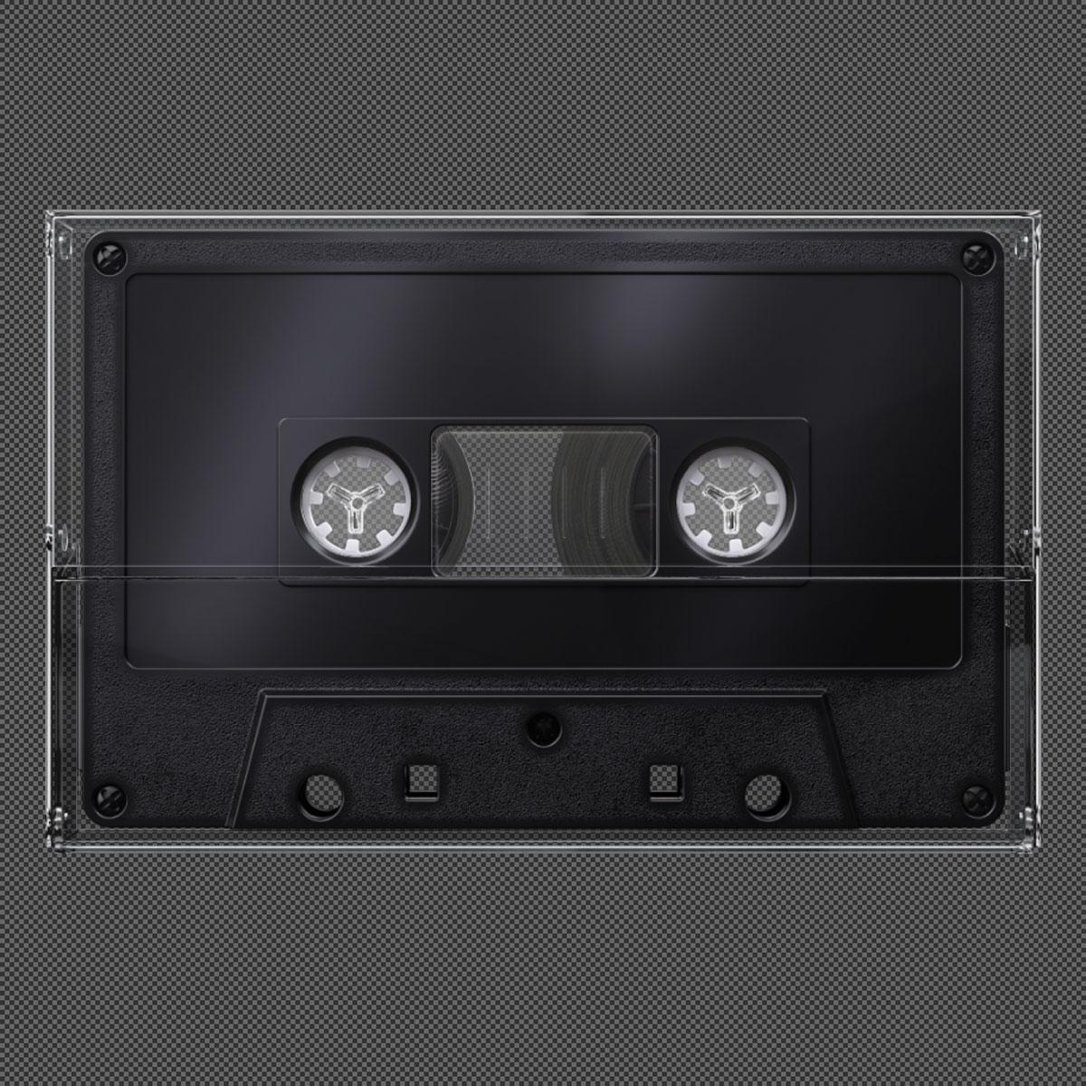 [淘宝购买] 潮流复古盒式磁带录音带设计智能贴图展示样机模板 Undead's Mix '80插图(8)