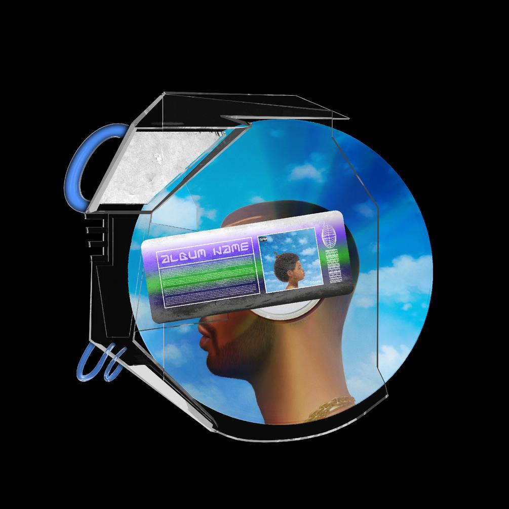 [已解锁精品素材] 潮流CD光盘贴纸设计展示样机模板 CD Case Mockup插图3