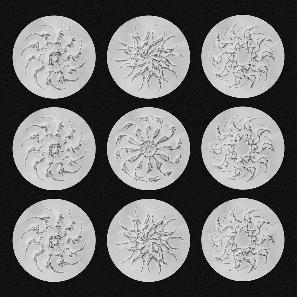 30多种抽象装饰符号图形字体下载 Paraxite Font插图(2)