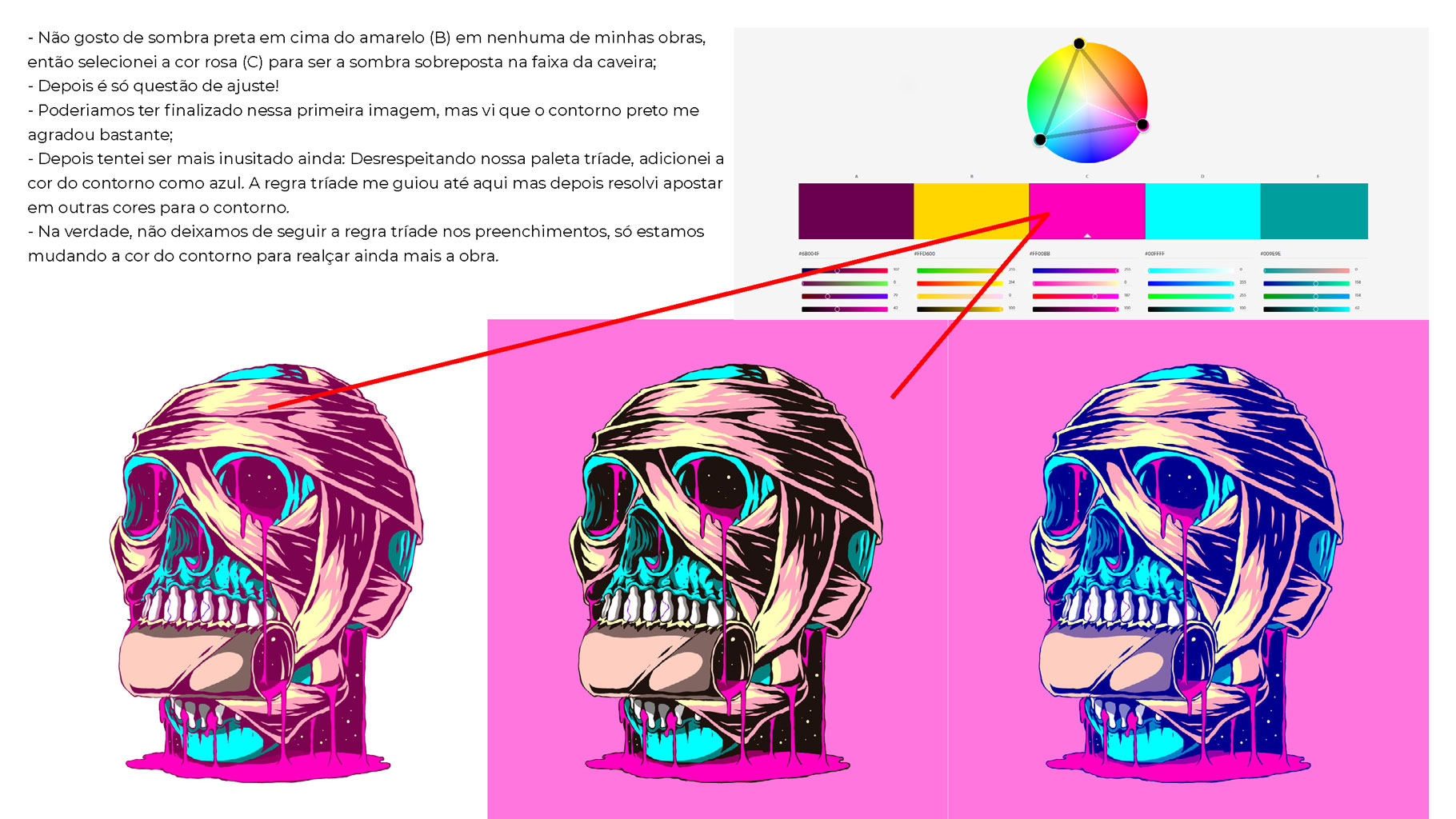 [淘宝购买] 300款色彩亮丽蒸汽波风动画绘画色板色轮模板素材 300 Color Swatches For Adobe Illustrator & Adobe Photoshop插图(13)