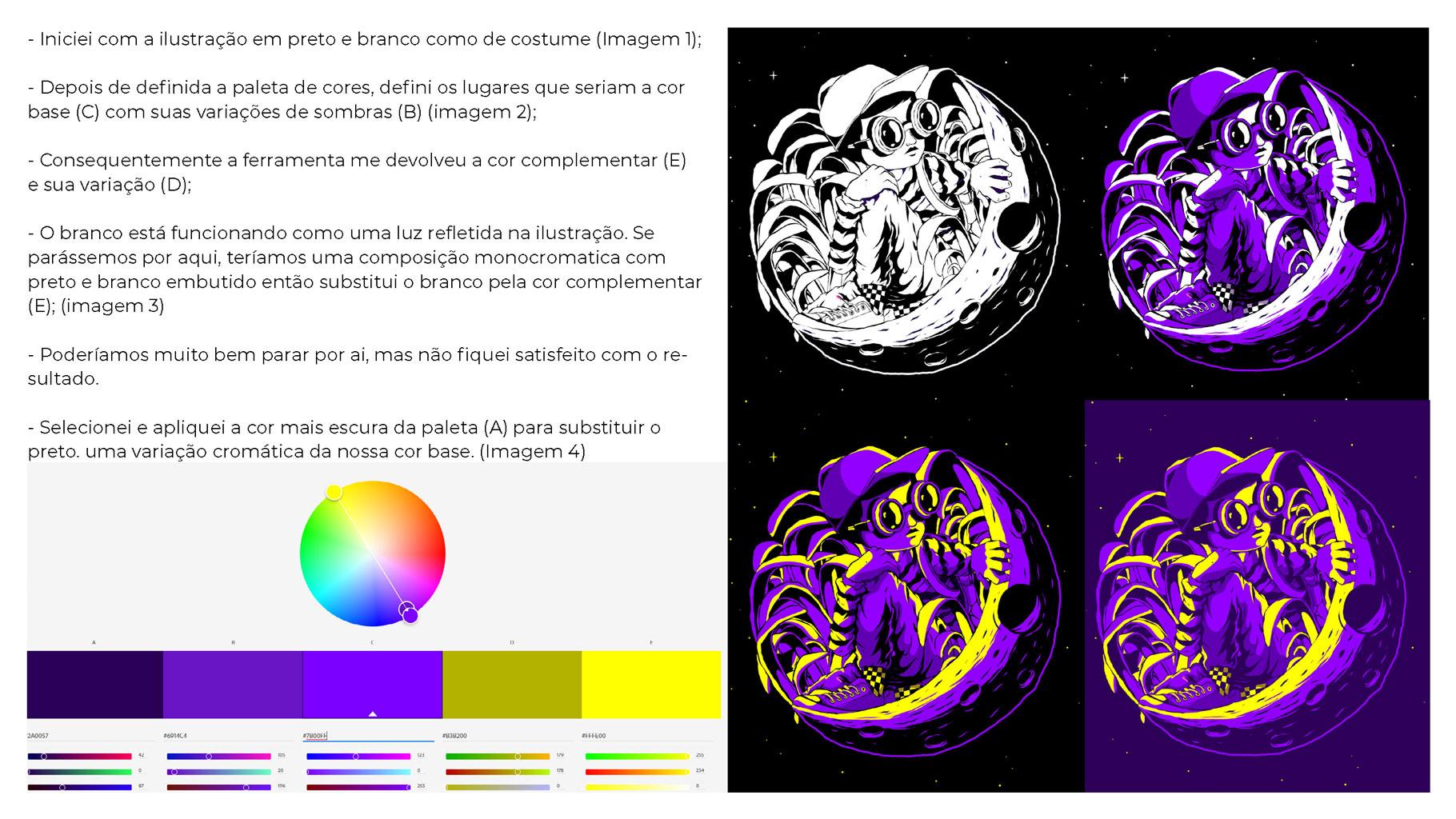 [淘宝购买] 300款色彩亮丽蒸汽波风动画绘画色板色轮模板素材 300 Color Swatches For Adobe Illustrator & Adobe Photoshop插图(15)