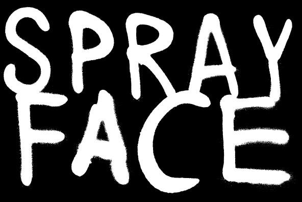 潮流涂鸦喷漆英文字母数字符号设计矢量素材 Anti插图(3)