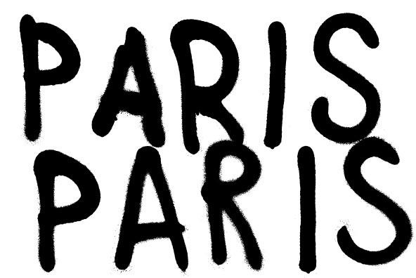 潮流涂鸦喷漆英文字母数字符号设计矢量素材 Anti插图(6)