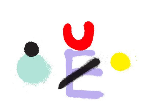 潮流涂鸦喷漆英文字母数字符号设计矢量素材 Anti插图(11)
