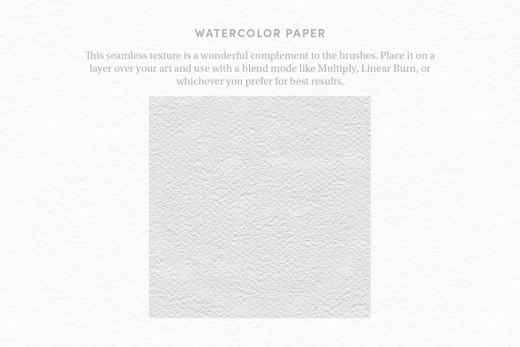 26款逼真水彩绘画纹理效果Procreate笔刷 Watercolor Kit – Procreate Brushes插图(10)