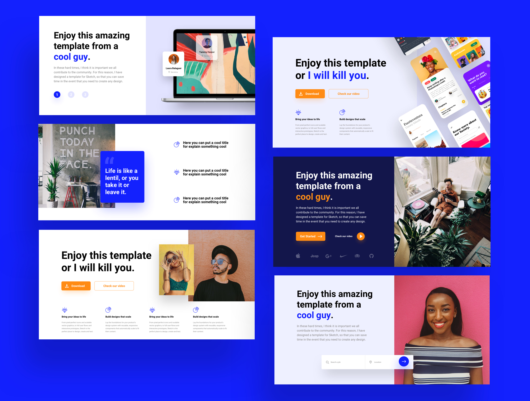 180+精美创意网站WEB UI设计套件 Bloc Web UI Kit插图(2)